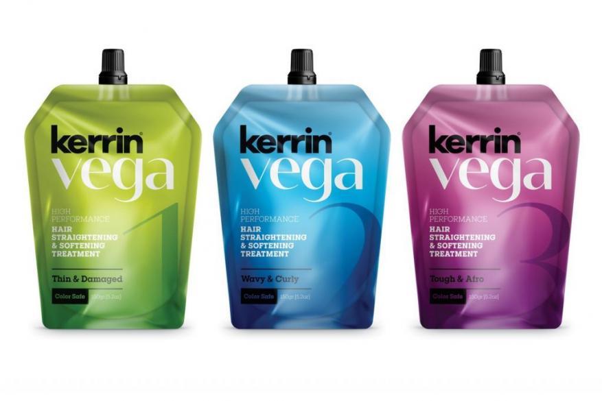 Kerrin Vega Μόνιμη Ισιωτική θεραπεία Μαλλιών
